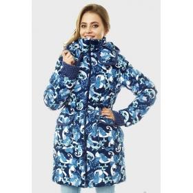 Зимняя слингокуртка Gerda 3в1, ирисы