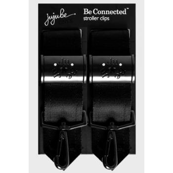 Крепления для колясок Ju-Ju-Be к сумкам и рюкзакам для мам, черный
