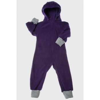 Флисовая поддева (комбинезон) Comfort, фиолетовый