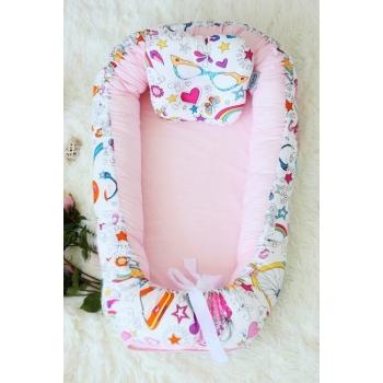 Кокон-гнездышко для новорожденных Babynest Holiday Roses