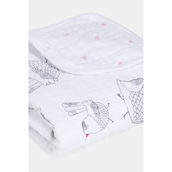 Муслиновое одеяло Aden&Anais, 70х70см, Lovebird