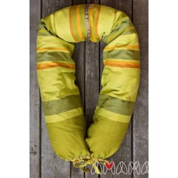 """Подушка для беременных и кормящих """"Путешественница"""", зеленый"""