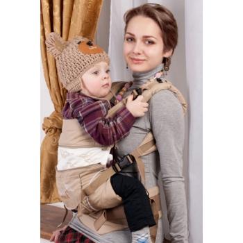 Эрго-рюкзак My Baby Style, бежевый