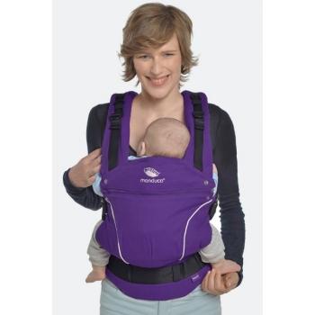 Эрго-рюкзак Manduca PureCotton, Purple (фиолетовый)