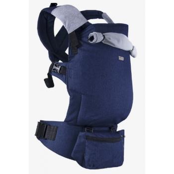 Эрго-рюкзак Light, Jeans синий с поясной сумочкой