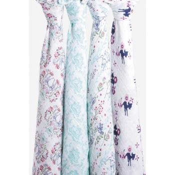 Муслиновые пеленки Aden&Anais для новорожденных большие, набор 4, Disney Bambi