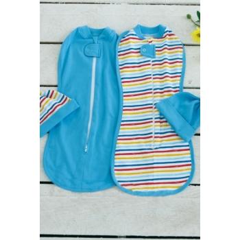 Комплект пеленок-коконов для новорожденных, Rainbow Stripe