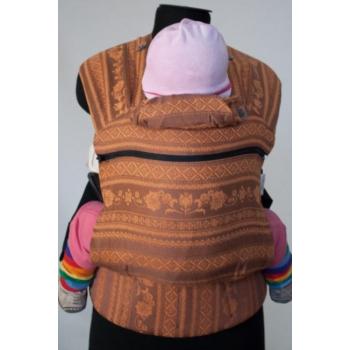 Эрго-рюкзак Карауш шарфовый с бамбуком растущий, Gerbera