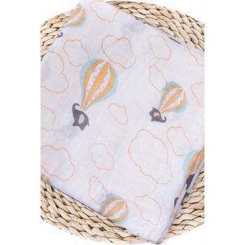 Муслиновая пеленка для новорожденных Diva большая, Baloon