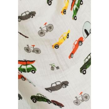 Муслиновая пеленка для новорожденных Diva большая, Cars