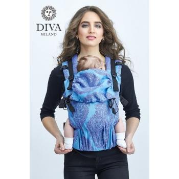 Эрго-рюкзак Diva Essenza Celeste One! с бамбуком