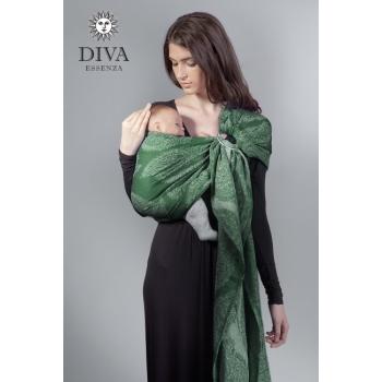 Слинг с кольцами Diva Essenza, Pino с бамбуком