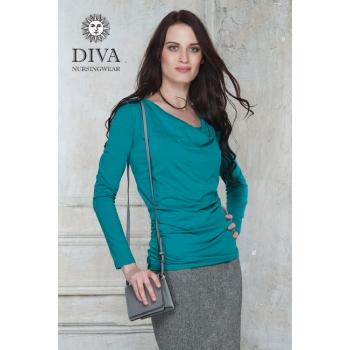 Топ для кормящих и беременных Diva Nursingwear Bella, цвет Smeraldo