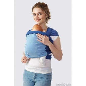 Слинг-шарф трикотажный Fusion, деним-голубой
