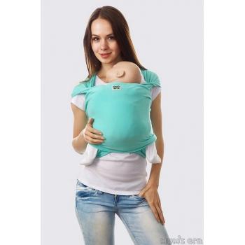 Слинг-шарф трикотажный, мятный