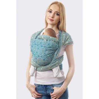 Слинг-шарф Bloom, голубой