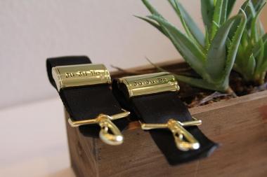 Крепления для колясок Ju-Ju-Be к сумкам и рюкзакам для мам, золото
