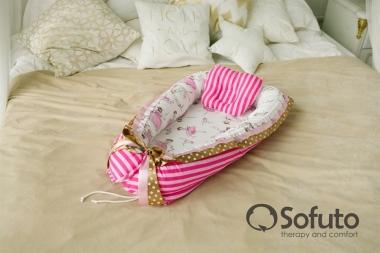 Гнездышко-кокон для новорожденных Babynest Colombina