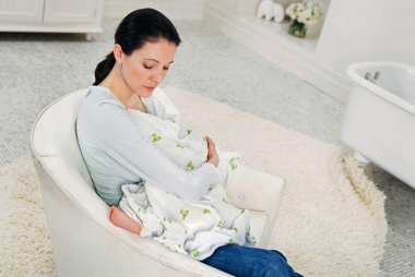 Aden&Anais набор 4 больших муслиновых пеленок, Mod about Baby (ребенок)