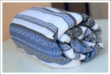 Слинг-шарф Ellevill Zara Tricolor Blue