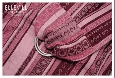 Слинг с кольцами Ellevill Zara Tricolor Sugar