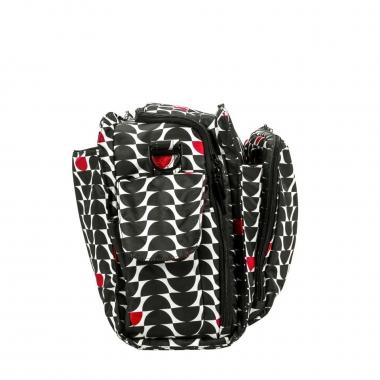 Дорожная сумка для мамы или сумка для двойни Ju-Ju-Be Be Prepared, Onyx Black Widow