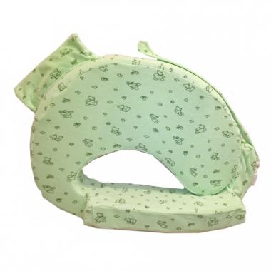 Подушка для кормления «Milk Rivers Support» нежно-зеленая