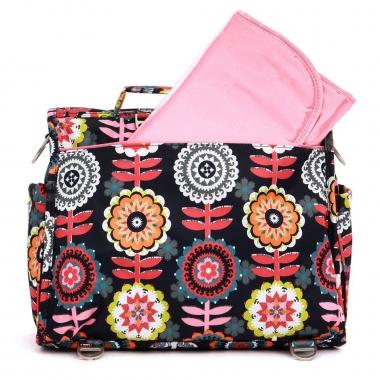 Рюкзак для мамы Ju-Ju-Be BFF, Dancing Dahlias