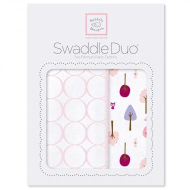 Набор пеленок SwaddleDesigns Swaddle Duo PP Cute & Wild