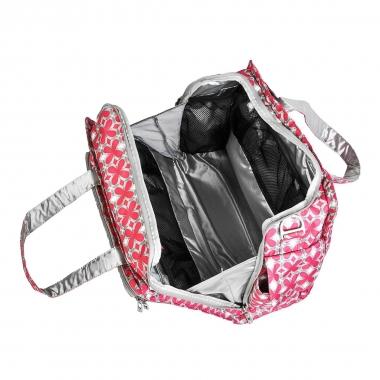 Дорожная сумка Ju-Ju-Be Be Prepared Pink Pinwheels