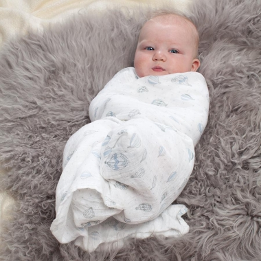 Муслиновые пеленки для новорожденных Aden&Anais большие, набор 4, Night Sky