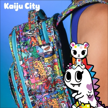 Рюкзак для мамы Ju-Ju-Be - Be Right Back, Tokidoki Kaiju City