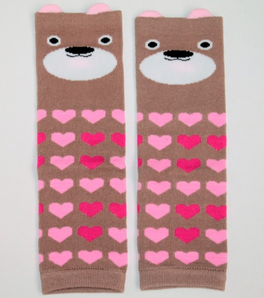 "Слингогетры (гетры для детей) ""Bears Pink"""