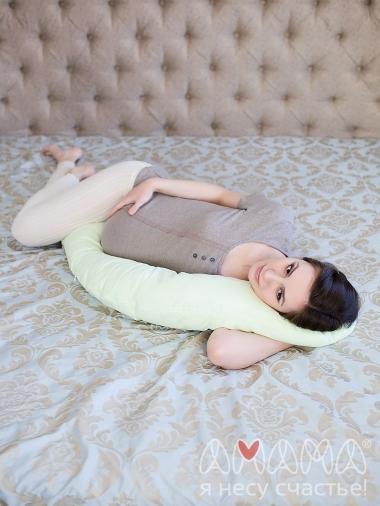 """Подушка для кормящих и беременных """"Лёгкая на подъём"""", зеленый"""