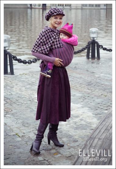 Слинг Ellevill Norwegian Style Mie с шерстью
