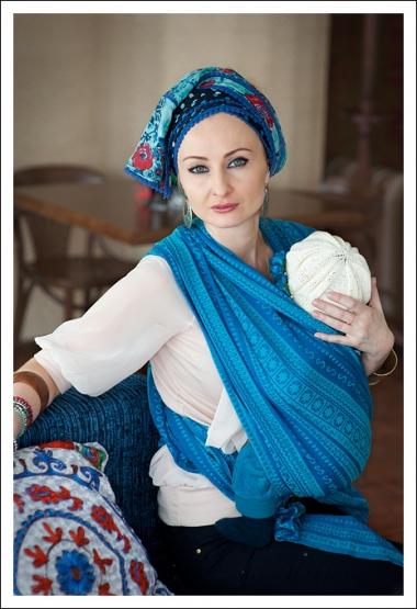 Слинг-шарф Ellevill Zara Arthur со льном