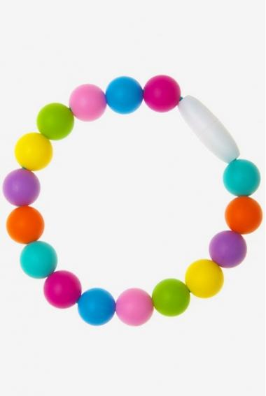 Силиконовый браслет-прорезыватель Майя, фуксия