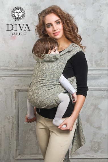 Май-слинг от 6 мес. Diva Basico Damasco Toddler
