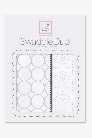 Набор пеленок SwaddleDesigns Swaddle Duo ST Mod C/Sparklers