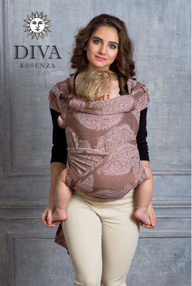 Май-слинг Diva Essenza, Moka, размер Toddler
