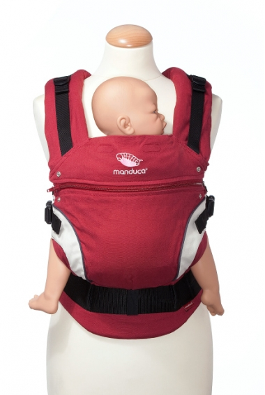 Эрго-рюкзак Manduca, цвет красный (red)