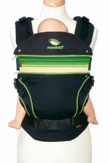 Эрго-рюкзак Manduca, Blackline зеленый