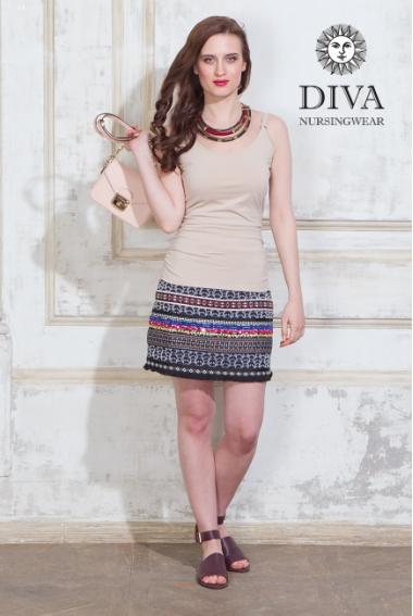 Майка для кормящих и беременных Diva Natale, цвет Grano