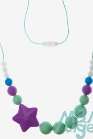 Слингобусы Аврора, мятно-фиолетовые