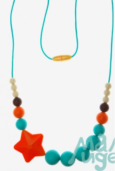 Слингобусы Аврора, оранжево-бирюзовые