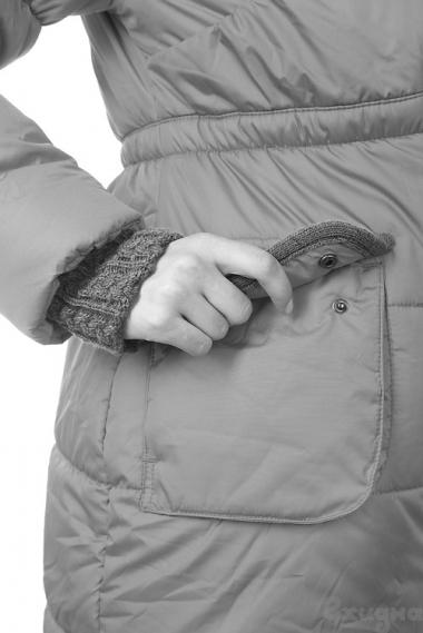 Слингокуртка зимняя Gliona 3в1, серый