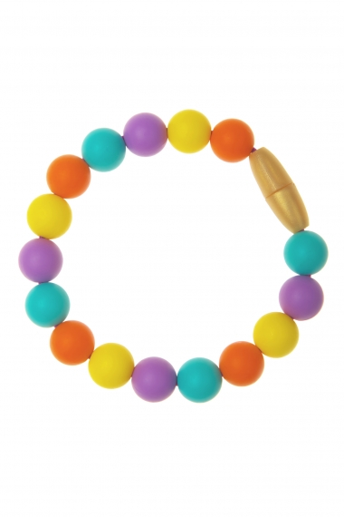 Силиконовый браслет-прорезыватель Майя, фиолетовый