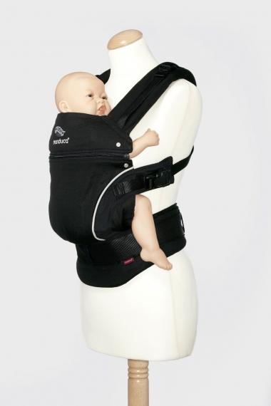 Эрго-рюкзак Manduca PureCotton, Night Black (черный)