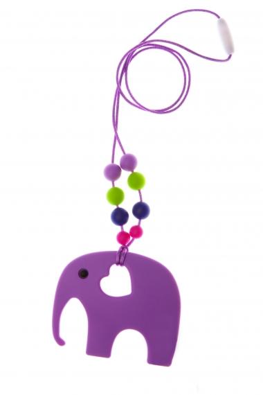 Слингобусы с прорезывателем Сафари, фиолетовые